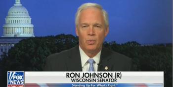 Ron Johnson Still Gaslighting Republicans Over January 6 Insurrection