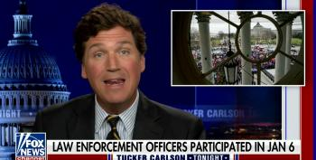 Weird Even For Tucker: 'FBI To Blame' For Jan 6 Insurrection