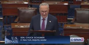 'Despicable': Chuck Schumer Rails Against GOP Fascism