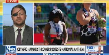 Dan Crenshaw Goes Total Fascist On Olympic Athlete