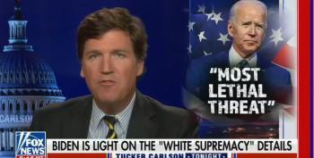 Tucker Attacks Biden For Saying White Supremacists Are Major Terror Threat