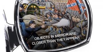 CARTOON: Objects In Mirror Are Closer Than They Appear
