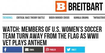Right-Wing Media Smears US Women's Soccer Team