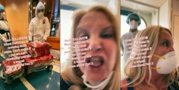 Karen Freaks Out After Being Kicked Off Royal Caribbean Ship Due To Positive COVID Test