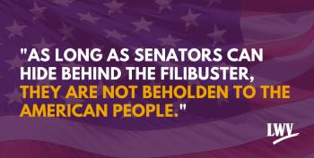 There Is No Way To Pass ANY Progressive Legislation While The Filibuster Exists