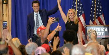 UPDATED — Gaetz And Greene Rally Abruptly Canceled