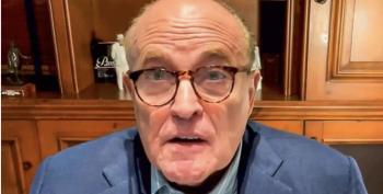 Giuliani Rages At Fox News For Participating In Election 'Conspiracy'
