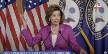 Yeah, Nancy's Had It With Kevin McCarthy: 'Such A Moron'