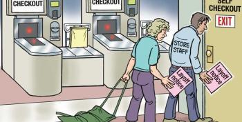 CARTOON: Self Checkout