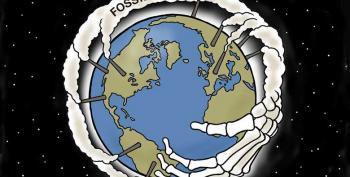 Cartoon: Fossil Fuel Death Grip