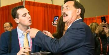 Mike Lindell Accuses Reporter Of 'Destroying The Country' At CPAC