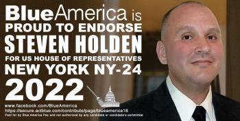 Blue America Endorsement: Steven Holden For New York's 24th