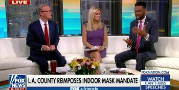 Steve Doocy Schools Co-Host On Vax Reality: 'Well, You Won't Die'