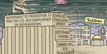 Cartoon: America's Afghanistan Monument