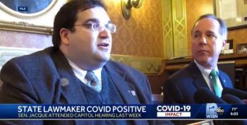 WI State Senator Becomes One-Man Superspreader Event
