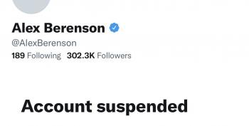 COVID Vaccine Menace Alex Berenson FINALLY Suspended From Twitter