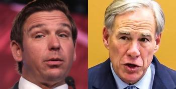 Abbott And DeSantis Are Locked In A COVID Death Match