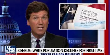 Tucker Carlson Uses Census As Excuse To Stoke Racial Tensions