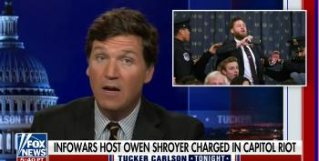 Carlson Defends InfoWars Host, Again Accusing FBI Of False Flag Operation