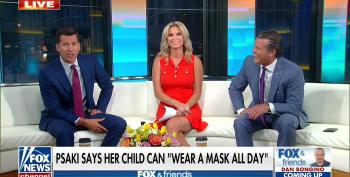 Fox Host Calls States With No Mask Mandates 'Free States'
