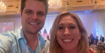 Klan Mom Greene Suspended From Twitter For 7 Days For Vax Lie