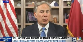 Abbott Begs For Help As Texas Hospitals Overflow With COVID