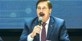 A Manic Mike Lindell Vows To Broadcast The Big Lie For 72 Hours