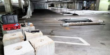 Mississippi COVID Patients May Be Treated In Parking Garage
