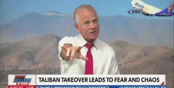 Peter Navarro Slaps The 'Terrorist' Label On Afghan Refugees
