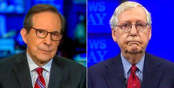 Chris Wallace Challenges McConnell's Desire For 'Full-scale War'