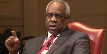 Clarence Thomas, Mr. MAGA Activist, Lectures Judges Not To Be Political