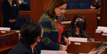 Maskhole Alaska State Senator, Banned By Airline, Can't Get To Capitol