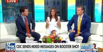 Fox Host Tests New Conspiracy Theory About COVID Vaccines And Dems