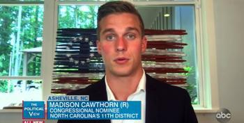 Madison Cawthorn Astroturfs School Board Mayhem