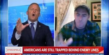 Newsmax Host Cuts Off Army Veteran For Criticizing Trump