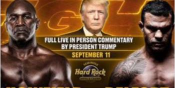 Trump To Observe 9/11 With Commentary On Has-Been Boxing Match