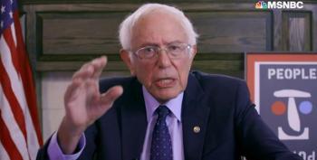 Bernie Sanders Lets Manchin Have It Over 'Entitlement' Remarks