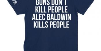 Don Jr Sells Disgusting Alex Baldwin T-shirts