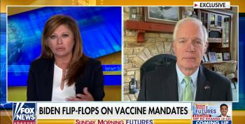 Ron Johnson And Maria Bartiromo Want You To Die For Trump