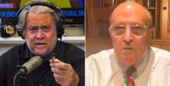 Steve Bannon And Rudy Giuliani Mock Prospect Of Prison