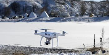 FAA, Drone Photojournalism, And The First Amendment Made A Difference At DAPL