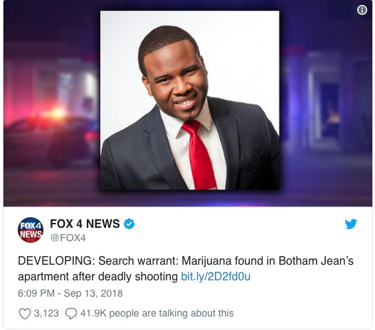 Local Fox News Station Slanders Botham Jean, Because Clickbait Matters More Than Integrity