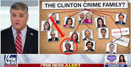 Hannity Once Labeled Donna Brazile 'Clinton Crime Family' But...