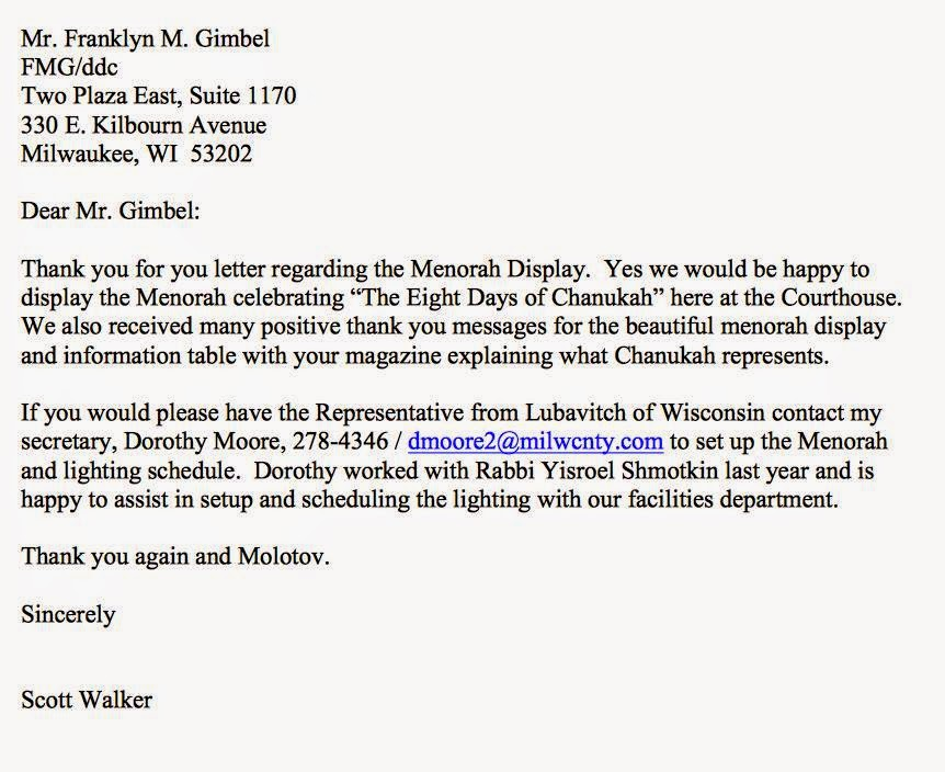 Scott walker oy to the world crooks and liars found the following letter sent by walker then milwaukee county executive addressed to frank gimbel a milwaukee attorney saying he would be glad to expocarfo