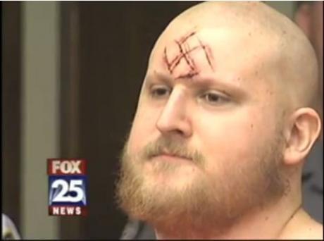 Neo-Nazi Killer Carves Swastika On Forehead | Crooks and Liars