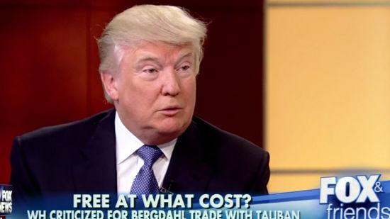 Donald Trump's Military Insight: Sgt. Bergdahl Hostage ...