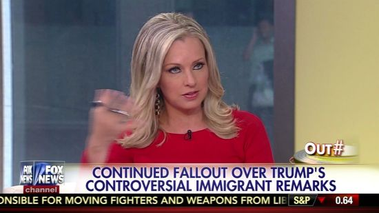 Fox News Hosts Of 'Outnumbered' Praise Donald Trump's Racist Mexican ...