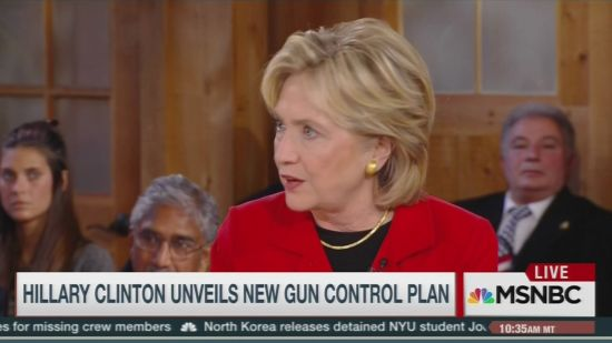 Hillary Clinton Talks About Her Tough Stance On Gun Control | Crooks and Liars