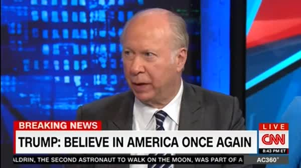 David Gergen On Trump's Victory Lap: I Knew I Didn't Like The Son Of A Bitch