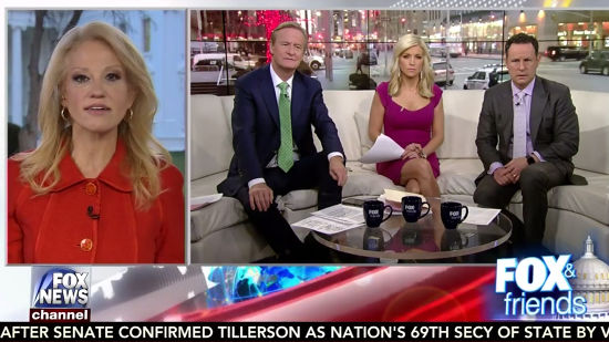 Kellyanne Conway Cries About Democrats' Refusal To Roll Over On ...